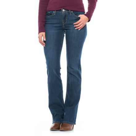 Levi's 815 Curvy Fit Jeans - Mid Rise, Bootcut (For Women) in Runoff - Closeouts