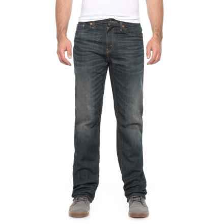 Authentics Signature Jeans - Regular Fit, Straight Leg (For Men) in Dark Denim - 2nds
