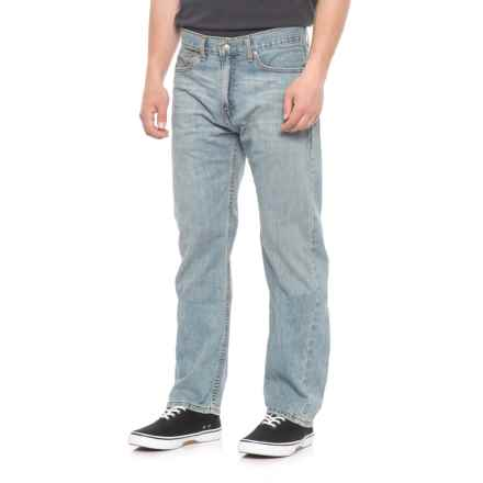 Authentics Signature Jeans - Regular Fit, Straight Leg (For Men) in Stone Wash Blue - 2nds
