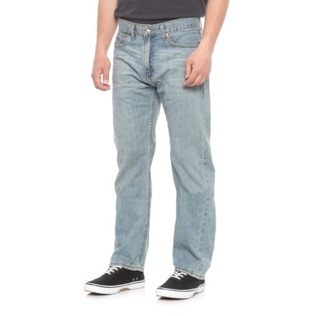 Levi's Authentics Signature Jeans - Regular Fit, Straight Leg (For Men) in Stone Wash Blue