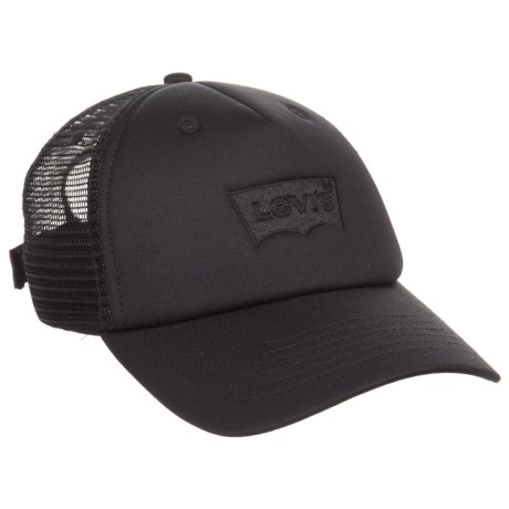 Levi's Cushioned Baseball Cap with Mesh Back (For Men) in Black