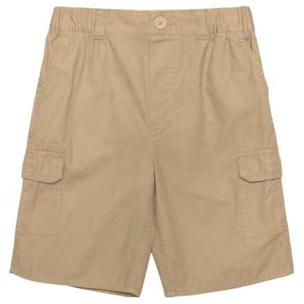Levi's Elastic Waistband Cargo Shorts (For Big Boys) in Incense - Closeouts