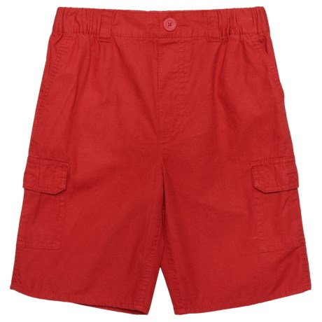 Levi's Elastic Waistband Cargo Shorts (For Big Boys) in Pompeian Red