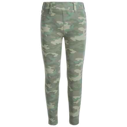 Levi's Haley Mae Denim Leggings (For Little Girls) in Camo - Closeouts