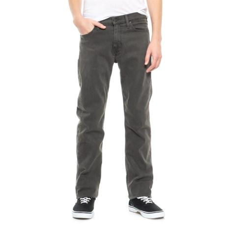 Levi's Levi's 513 Slim Straight Stretch Jeans - Straight Leg (For Men) in Grey