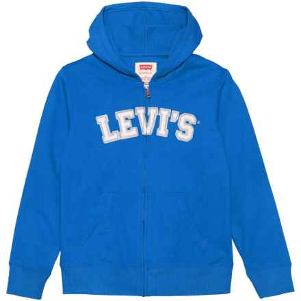 Levi's Levi's Baldwin Hoodie - Full Zip (For Big Boys) in Strong Blue - Closeouts