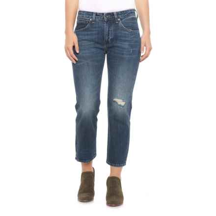 Made & Crafted® Jodi Blue Slim Crop Jeans (For Women) in Jodi Blue - Closeouts
