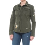 Levi's Patch Gasoline Jacket (For Women)