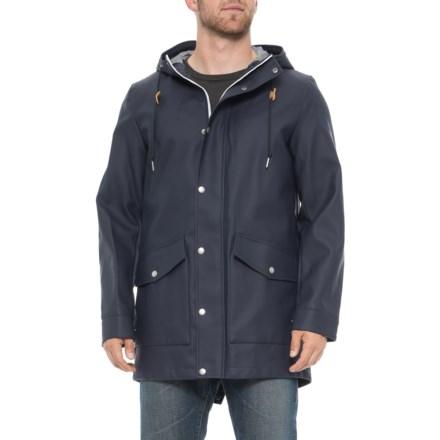 d7f2c4da7f Rubberized Rain Parka - Insulated (For Men) in Navy - Closeouts. Show Brand  Levi s