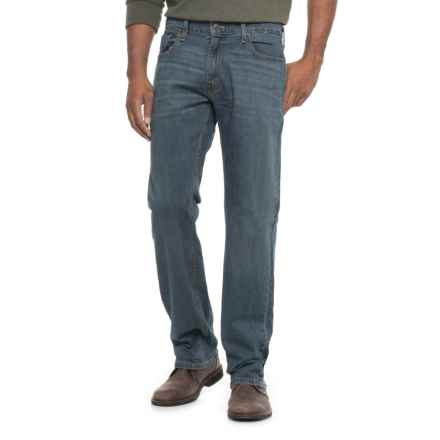 Signature Slim Straight-Leg Jeans (For Men) in Worn Blue - 2nds