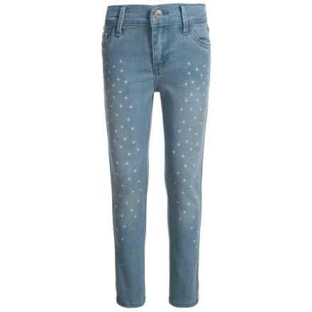 Levi's Star Gazer Skinny Jeans (For Little Girls) in Deserted Indigo - Closeouts