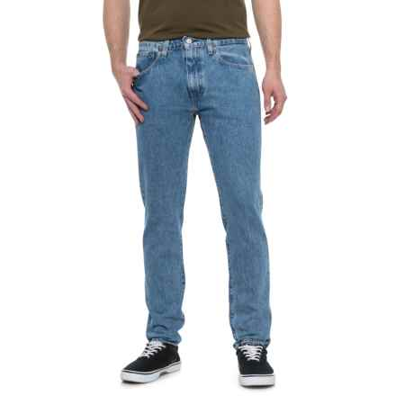 Stoned 512 Slim Fit Denim Jeans - Tapered Leg (For Men) in Stoned Poppy - Closeouts