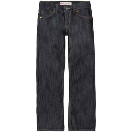 Levi's Straight-Fit Jeans (For Big Boys) in Ice Cap - Closeouts
