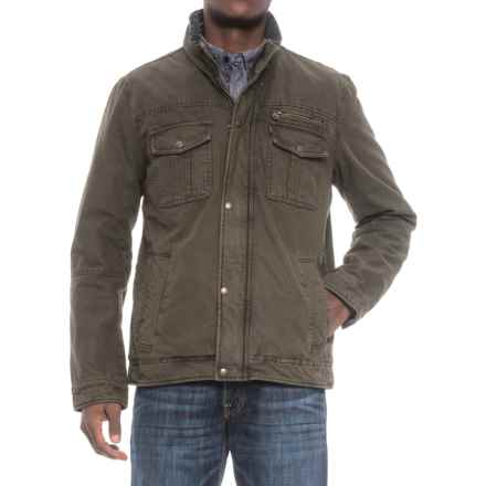 Levi's Two-Pocket Classic Trucker Jacket (For Men) in Olive - Closeouts