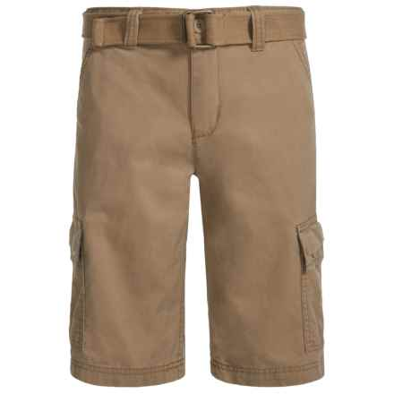 Levi's West Coast Belted Cargo Shorts (For Big Boys) in Harvest Gold - Closeouts
