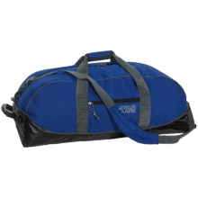 "Lewis & Clark Uncharted Weatherproof Duffel Bag - 30"" in Blue/Black - Closeouts"