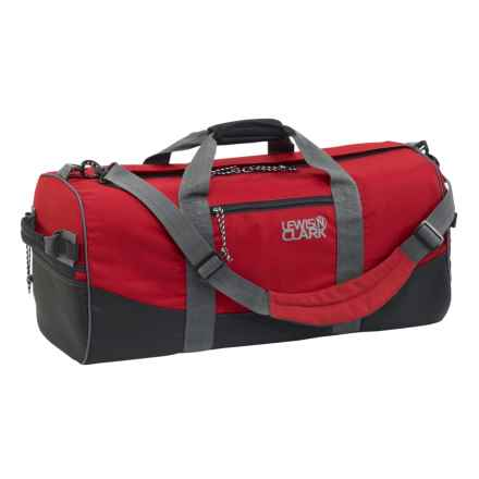 "Lewis N Clark 12x24"" Duffel Bag in Red - Closeouts"