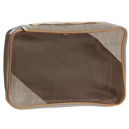 Lewis N Clark 1562 Packing Cube - Large in Taupe/Pumpkin - Closeouts