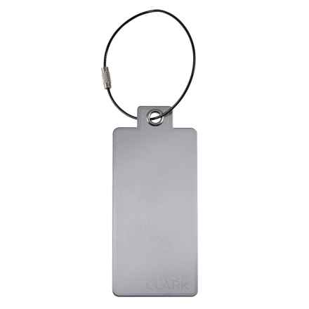 Lewis N Clark Aluminum Luggage Tag in Autumn - Closeouts