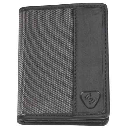 Lewis N Clark Ballistic RFID Card and ID Wallet in Smoke - Closeouts
