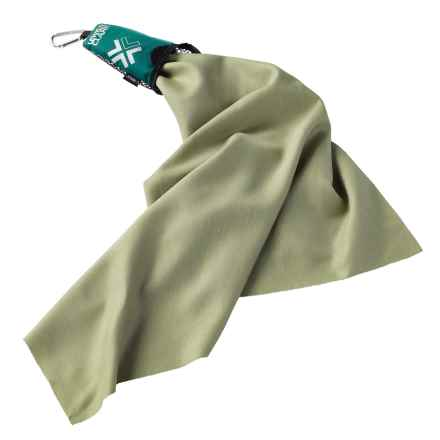 Lewis N Clark Campack® Towel in Green - Closeouts