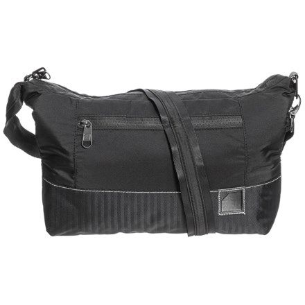4edf69077786 Lewis N Clark Classic Series Anti-Theft Crossbody Bag in Black - Closeouts