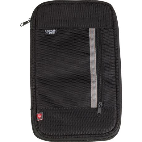 Lewis N Clark Deluxe RFID Document Organizer in Black