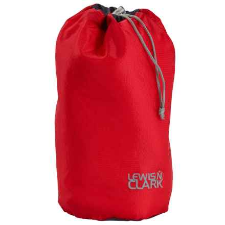Lewis N Clark Electrolight Ditty Stuff Bag - Medium in Red - Closeouts