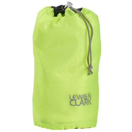 Lewis N Clark Electrolight Ditty Stuff Bag - Small in Neon Lemon - Closeouts
