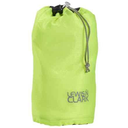 Lewis N Clark Electrolight Ditty Stuff Bag - Small in Neon Lemon - Closeouts
