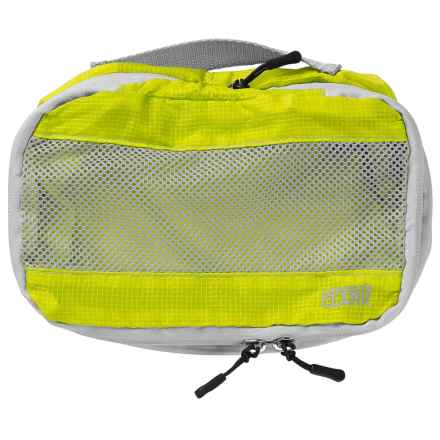 Lewis N Clark ElectroLight Expandable Packing Cube - Small in Neon Lemon - Closeouts