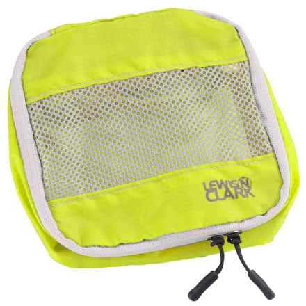Lewis N Clark Electrolight Micro Packing Cube in Neon Lemon - Closeouts