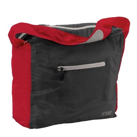 Lewis N Clark Electrolight Tote Bag in Red/Charcoal