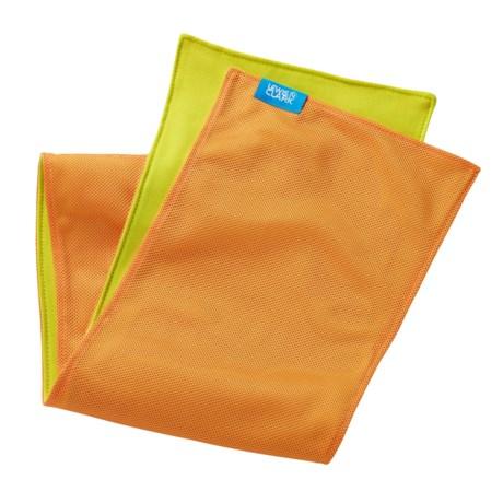 Lewis N Clark Ice Mate® Cool Towel in Orange