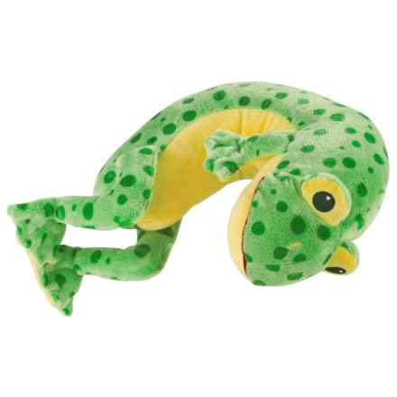 Lewis N Clark Lil' Lewis Travel Neck Pillow in Frog - Closeouts