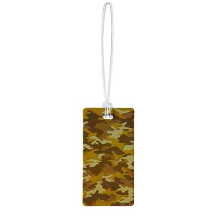 Lewis N Clark Luggage Tag in Desert Camo - Closeouts
