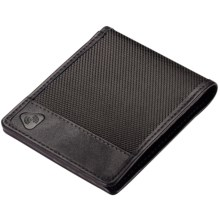 Lewis N. Clark RFID-Blocking Bi-Fold Wallet - Ballistic Nylon in Black - Closeouts