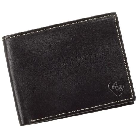 Lewis N. Clark RFID-Blocking Bi-Fold Wallet - Leather