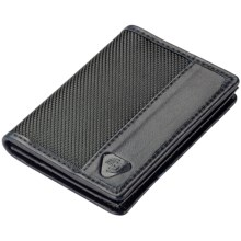 Lewis N. Clark RFID-Blocking Card/ID Wallet - Ballistic Nylon in Black - Closeouts