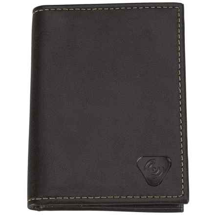 Lewis N. Clark RFID-Blocking Leather Card/ID Holder in Black - Closeouts