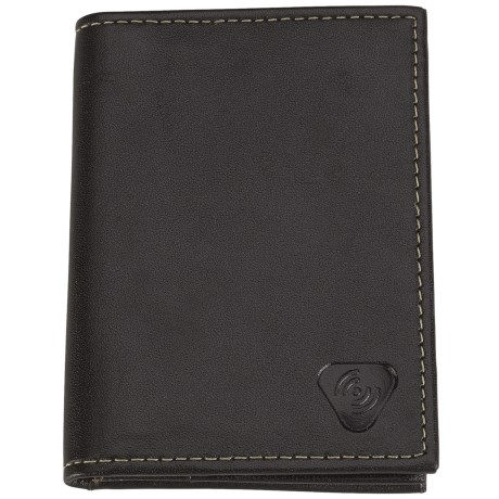 Lewis N. Clark RFID-Blocking Leather Card/ID Holder in Black