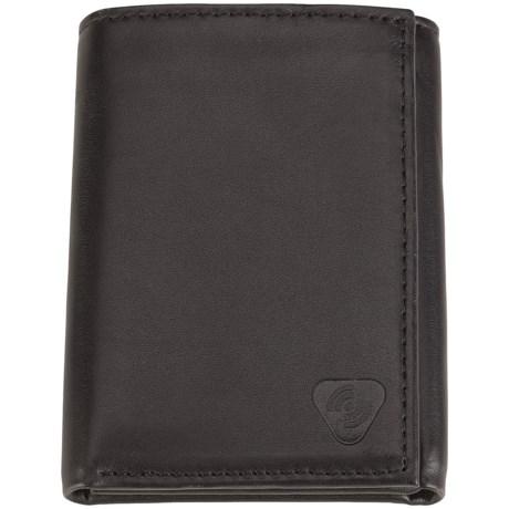 Lewis N. Clark RFID-Blocking Tri-Fold Wallet - Leather in Black