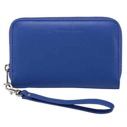 Lewis N Clark #Shetravels RFID Wristlet in Royal - Closeouts