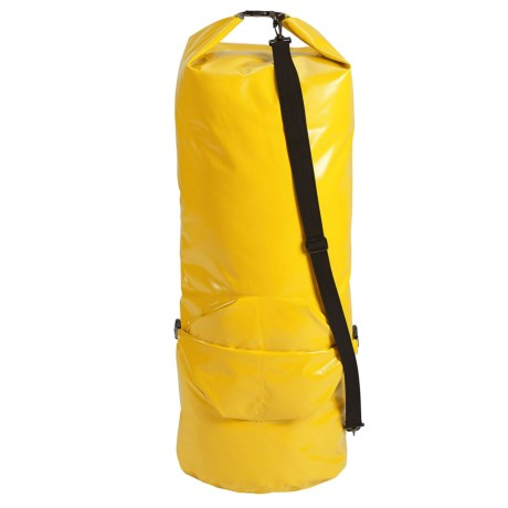 Lewis N Clark Submarine Dry Bag - 60L in Yellow