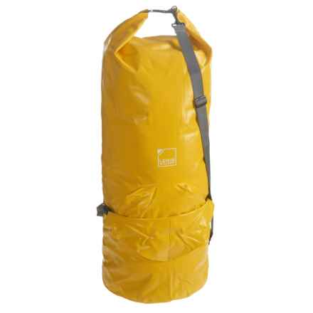 Lewis N Clark Submarine Dry Bag - 90L in Yellow - Closeouts