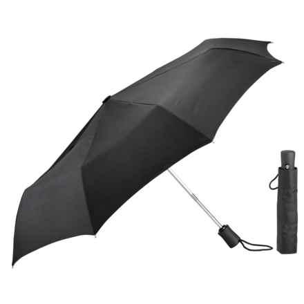 Lewis N Clark Travel Umbrella in Black - Closeouts