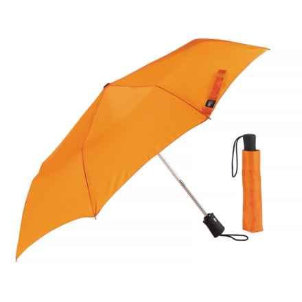 Lewis N Clark Travel Umbrella in Orange - Closeouts