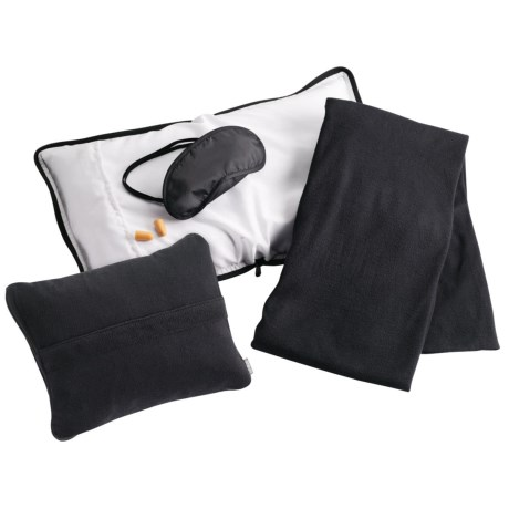 Lewis N Clark Ultimate Comfort Set - 4-Piece in Black
