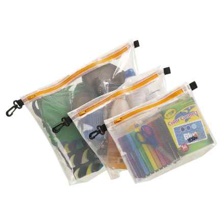 Lewis N Clark Water-Resistant Pouch Set - 3-Piece in See Photo - Closeouts