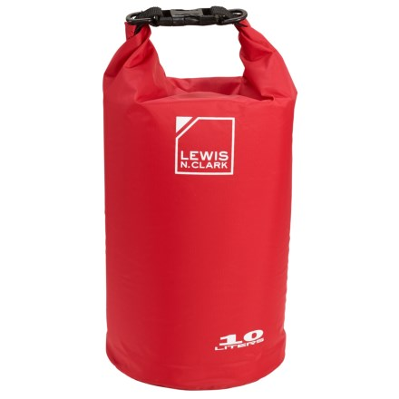 4c4e64380e3 Lewis N Clark Waterseals 10L Dry Bag in Red - Closeouts